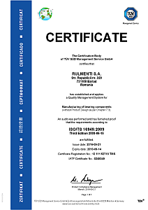 Certificate ISO_TS 16949